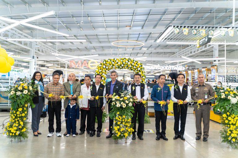 """ฉลองเปิดตัวอย่างเป็นทางการ """"โกลบอลเฮ้าส์สาขา กุฉินารายณ์ """" การันตีความเป็นผู้นำในธุรกิจโมเดิร์นเทรด ด้านวัสดุก่อสร้างและของตกแต่งบ้าน ที่ใหญ่ที่สุดและมีสาขามากที่สุดในเมืองไทย"""