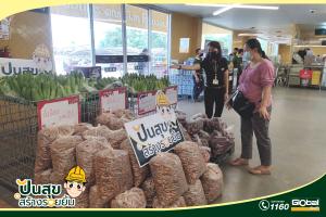เก็บตกภาพบรรยากาศ โกลบอลเฮ้าส์ ร่วมแชร์พื้นที่ปันสุขช่วยเหลือเกษตรกรไทย